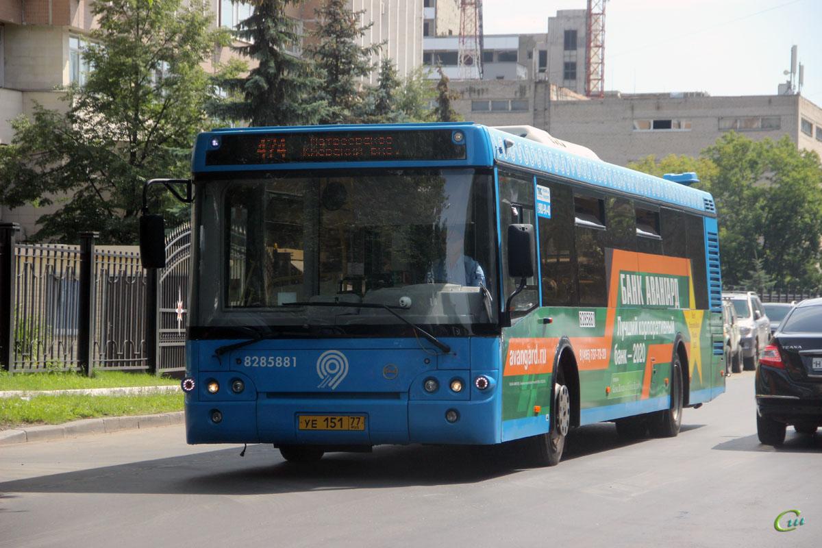 Москва. ЛиАЗ-5292.65 уе151