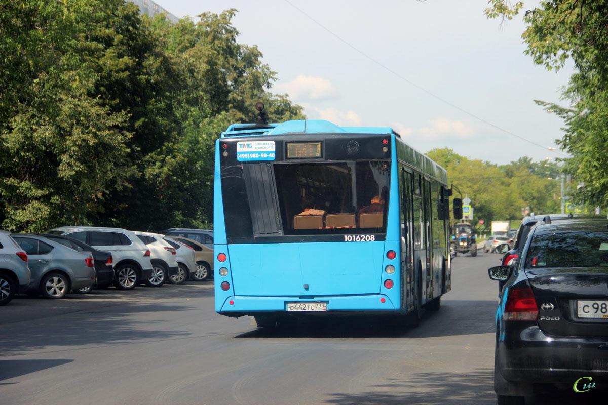 Москва. МАЗ-203.069 о442тс
