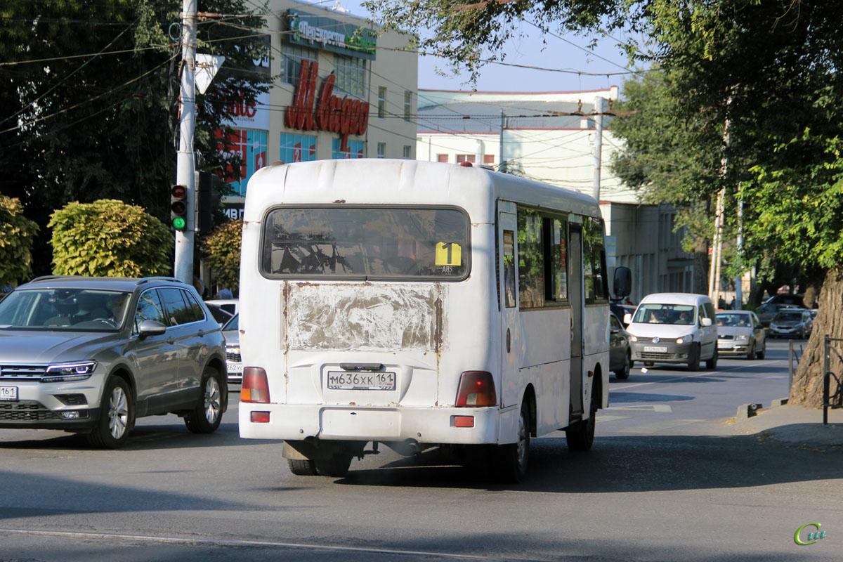 Таганрог. Hyundai County LWB м636хк