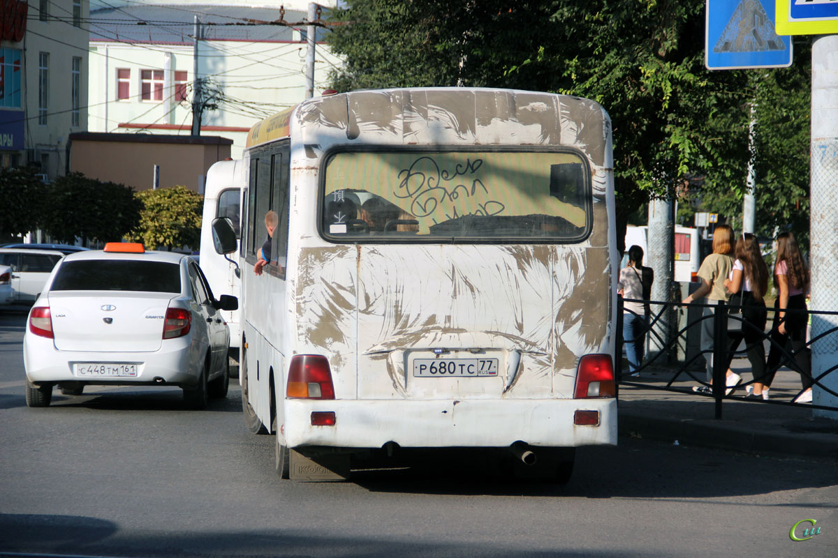 Таганрог. Hyundai County LWB р680тс
