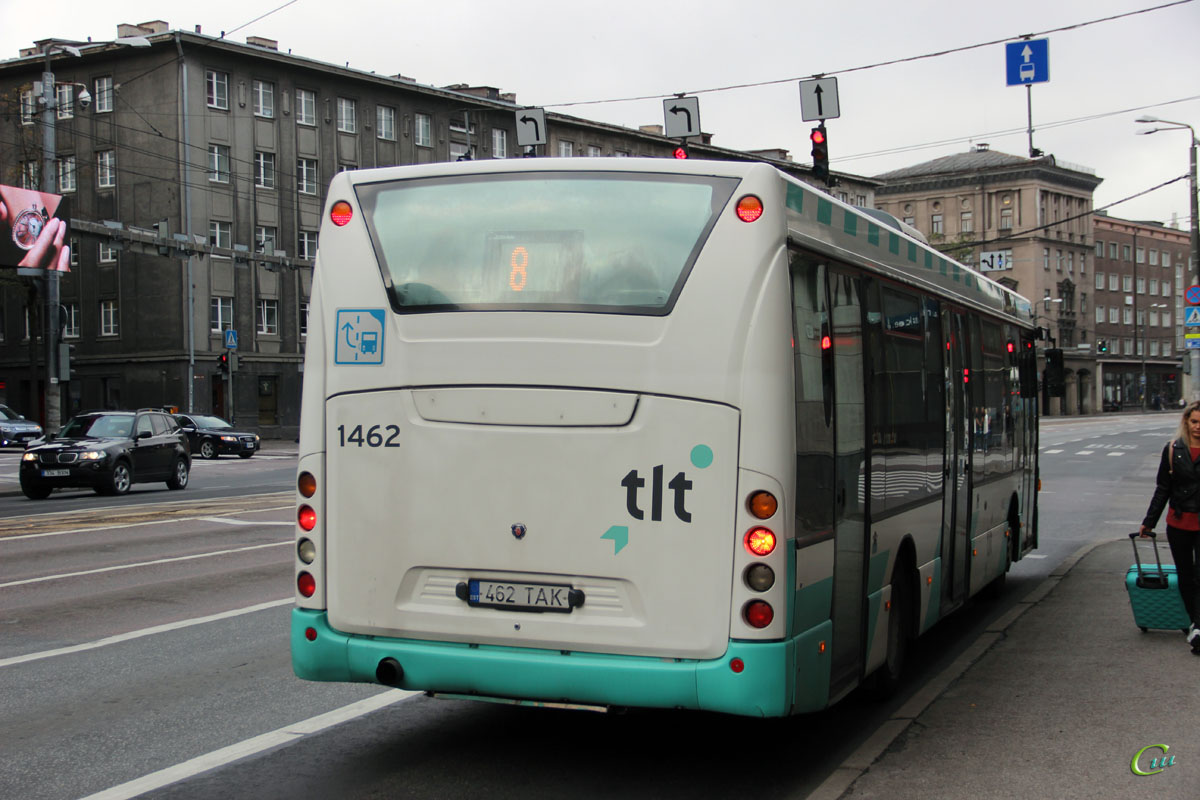 Таллин. Scania OmniLink CK270UB 462 TAK