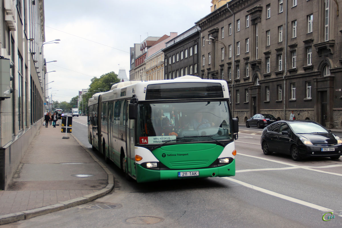 Таллин. Scania OmniCity CN94UA 211 TAK