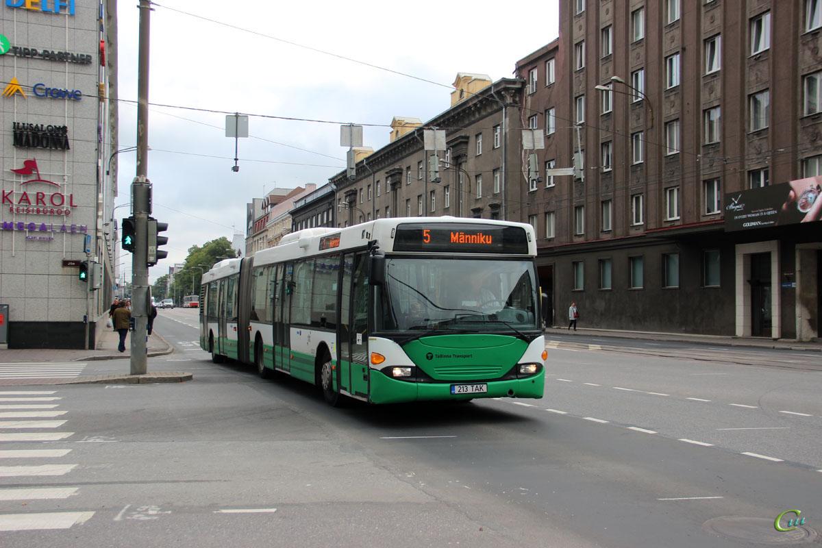 Таллин. Scania OmniCity CN94UA 213 TAK