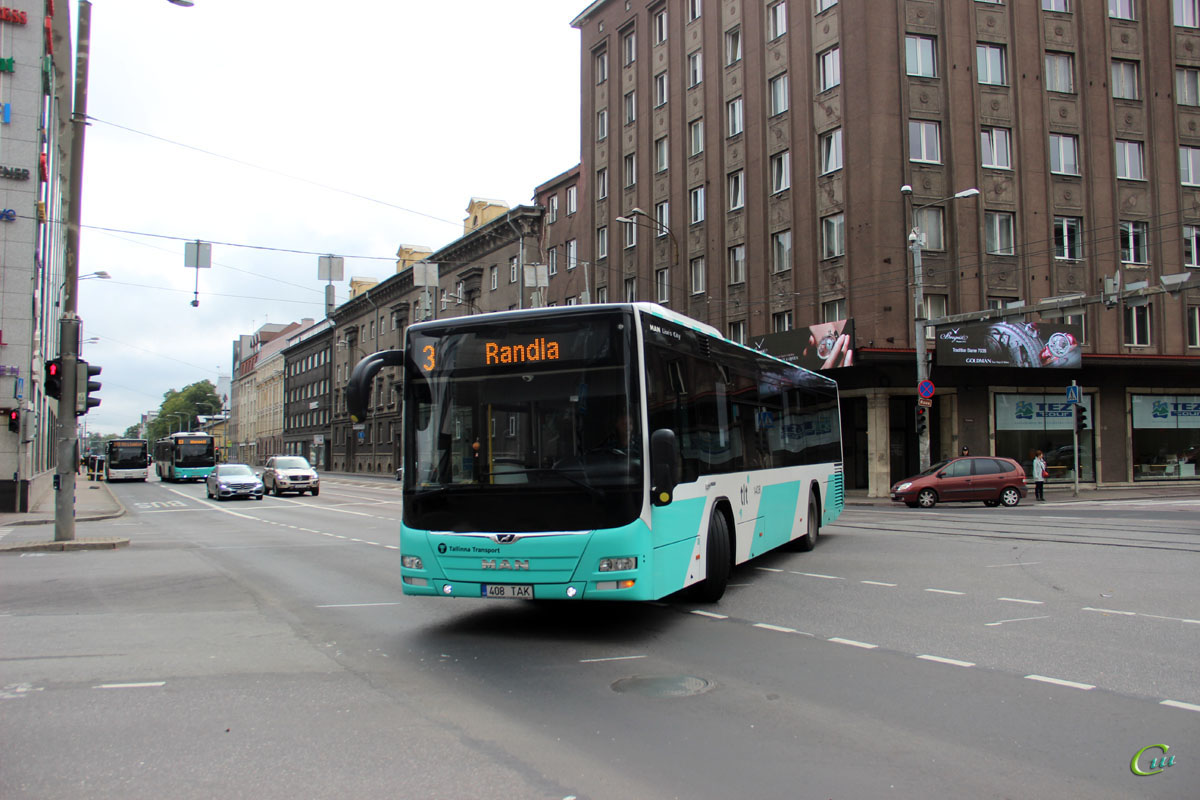 Таллин. MAN A78 Lion's City LE 408 TAK