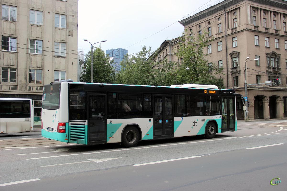 Таллин. MAN A78 Lion's City LE 298 TAK