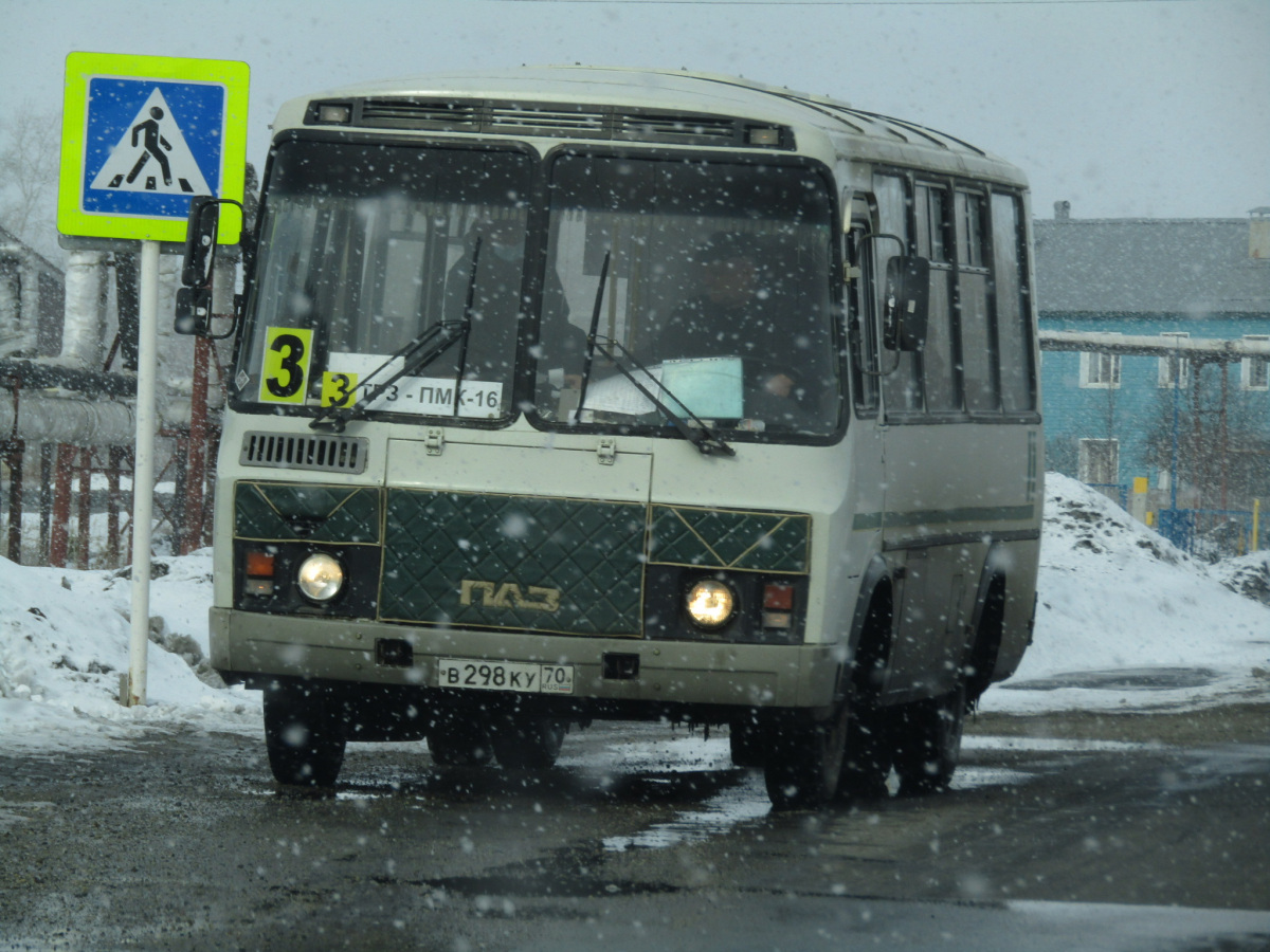 Асино. ПАЗ-32054 в298ку