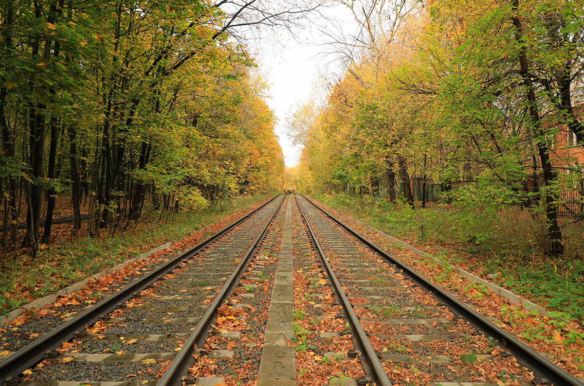 Москва. Трамвайные пути
