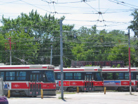 Торонто. UTDC CLRV №4022, UTDC CLRV №4058, UTDC CLRV №4171