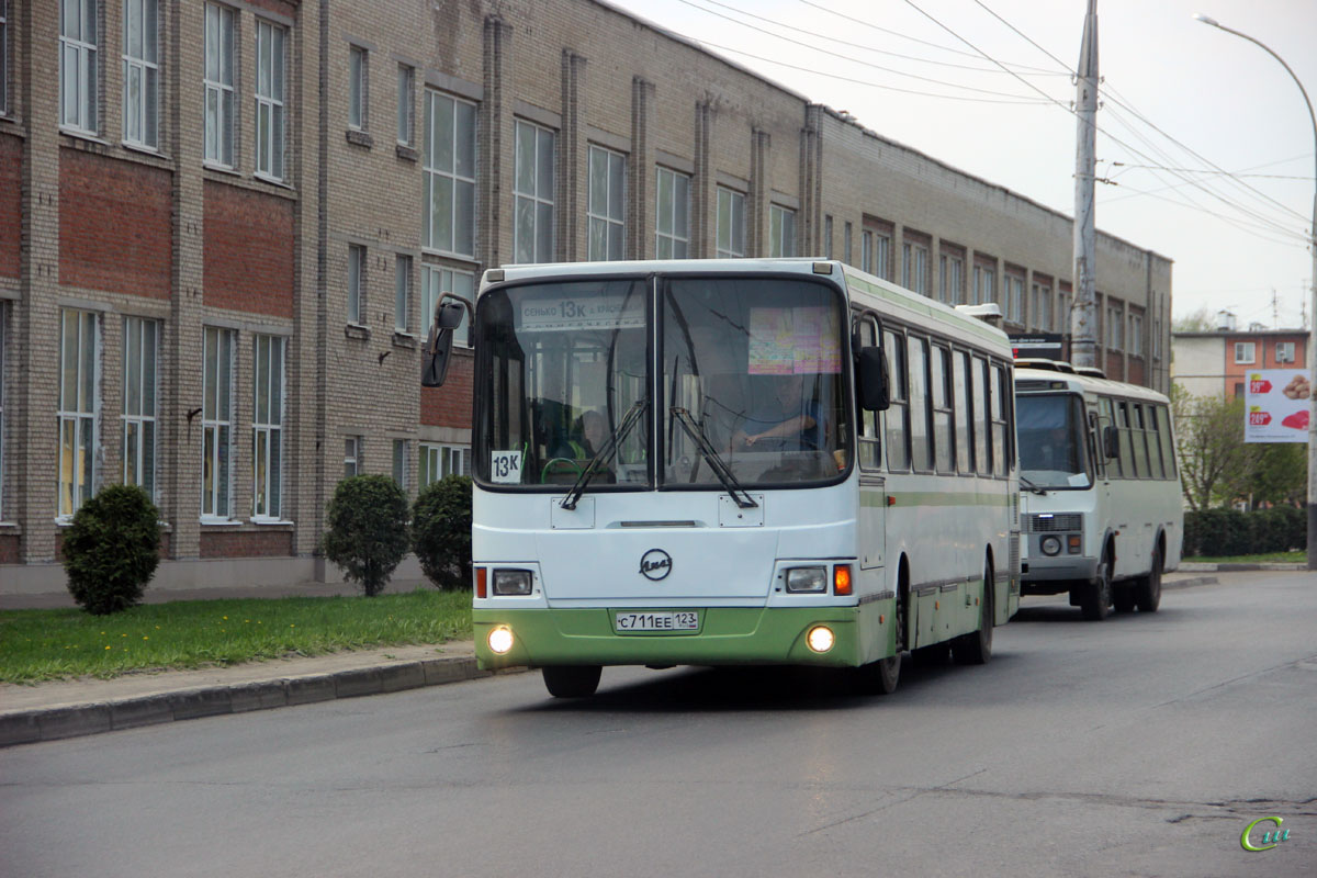 Тамбов. ЛиАЗ-5256.35 с711ее