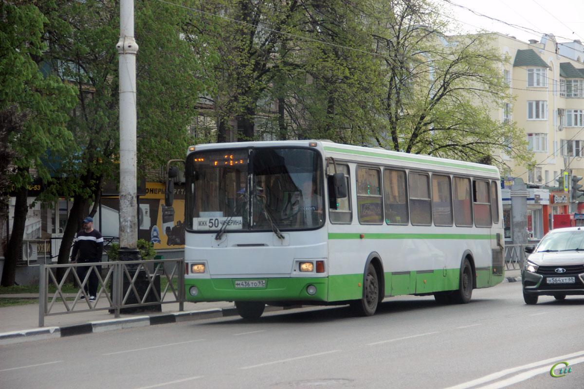 Тамбов. ЛиАЗ-5256.45 м436то