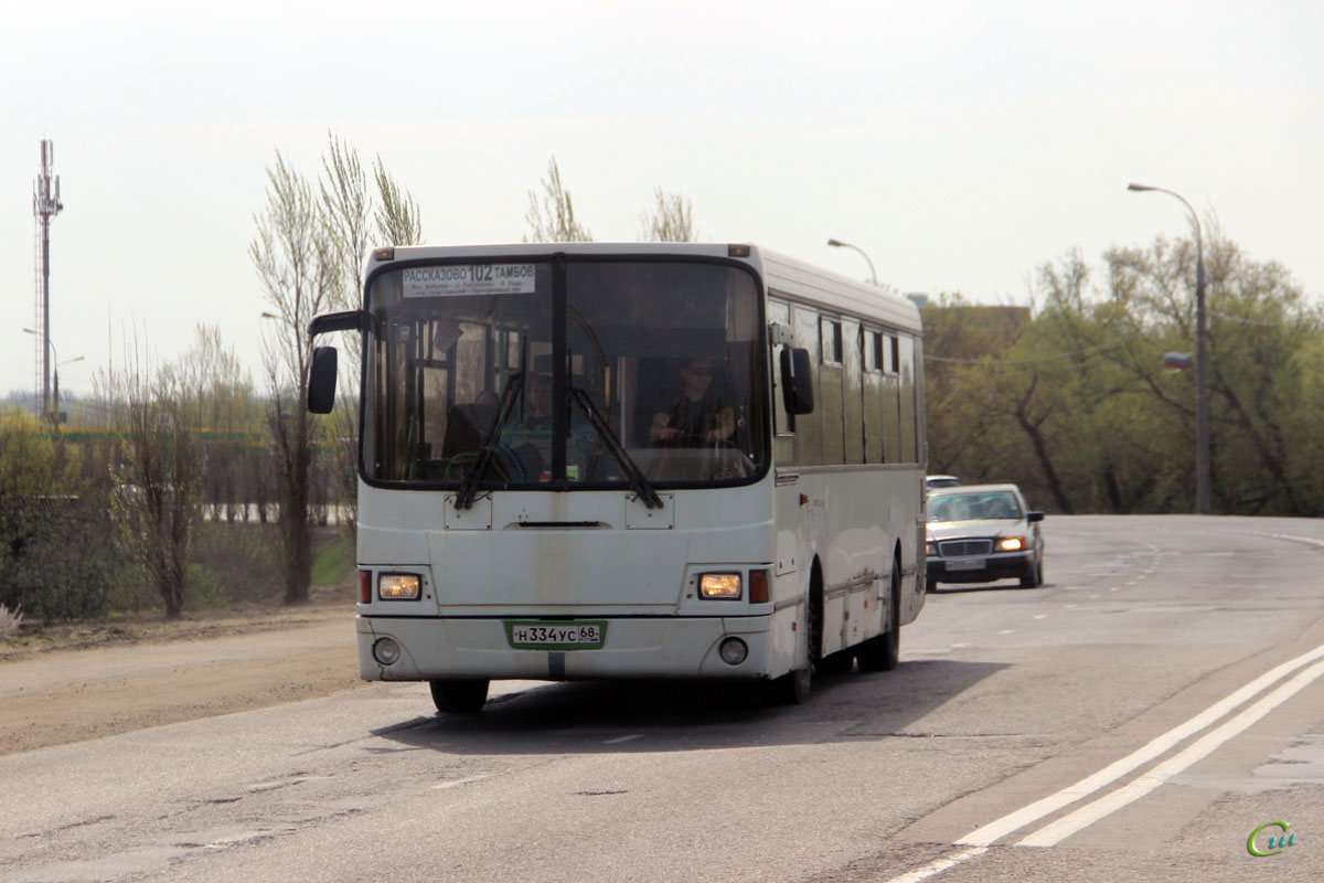 Тамбов. ЛиАЗ-5256.25-11 н334ус