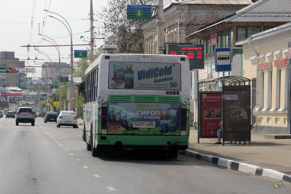 Тамбов. ЛиАЗ-5256.36 н317та