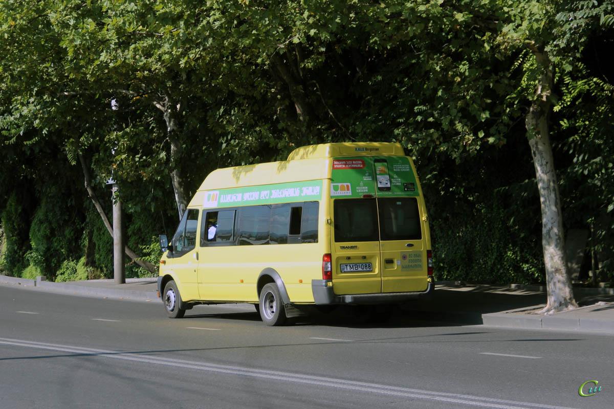 Тбилиси. Avestark (Ford Transit) TMB-088