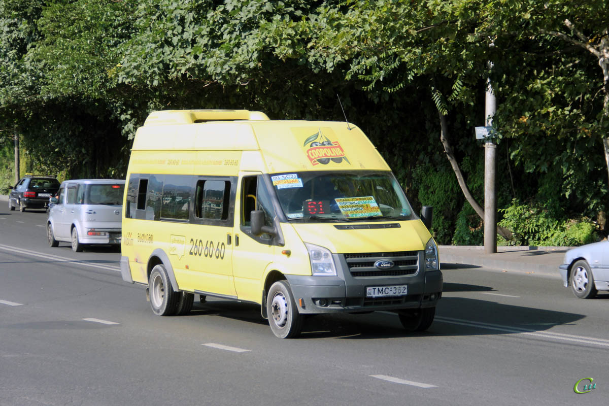 Тбилиси. Avestark (Ford Transit) TMC-362