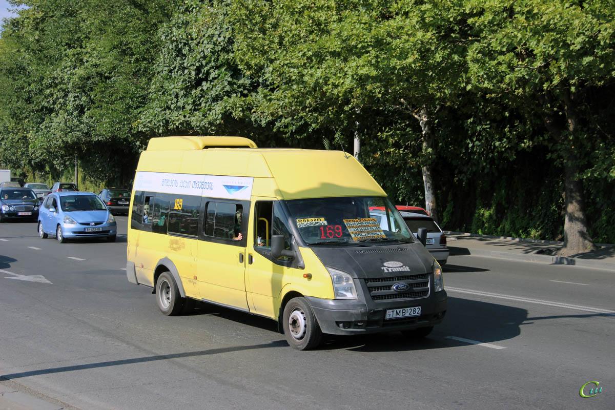 Тбилиси. Avestark (Ford Transit) TMB-282