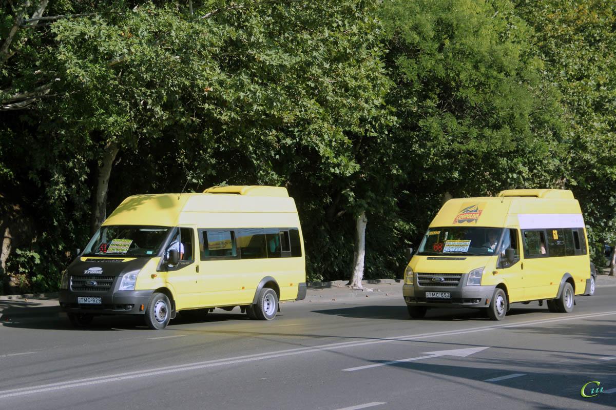 Тбилиси. Avestark (Ford Transit) TMC-652, Avestark (Ford Transit) TMC-929