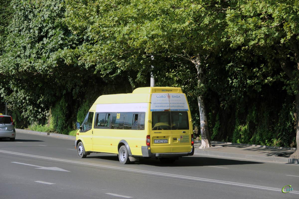 Тбилиси. Avestark (Ford Transit) TMC-652