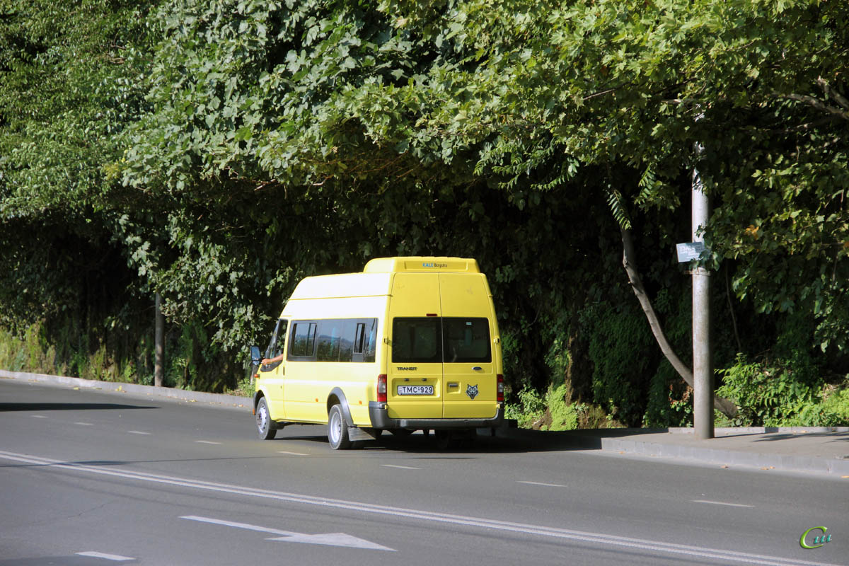 Тбилиси. Avestark (Ford Transit) TMC-929