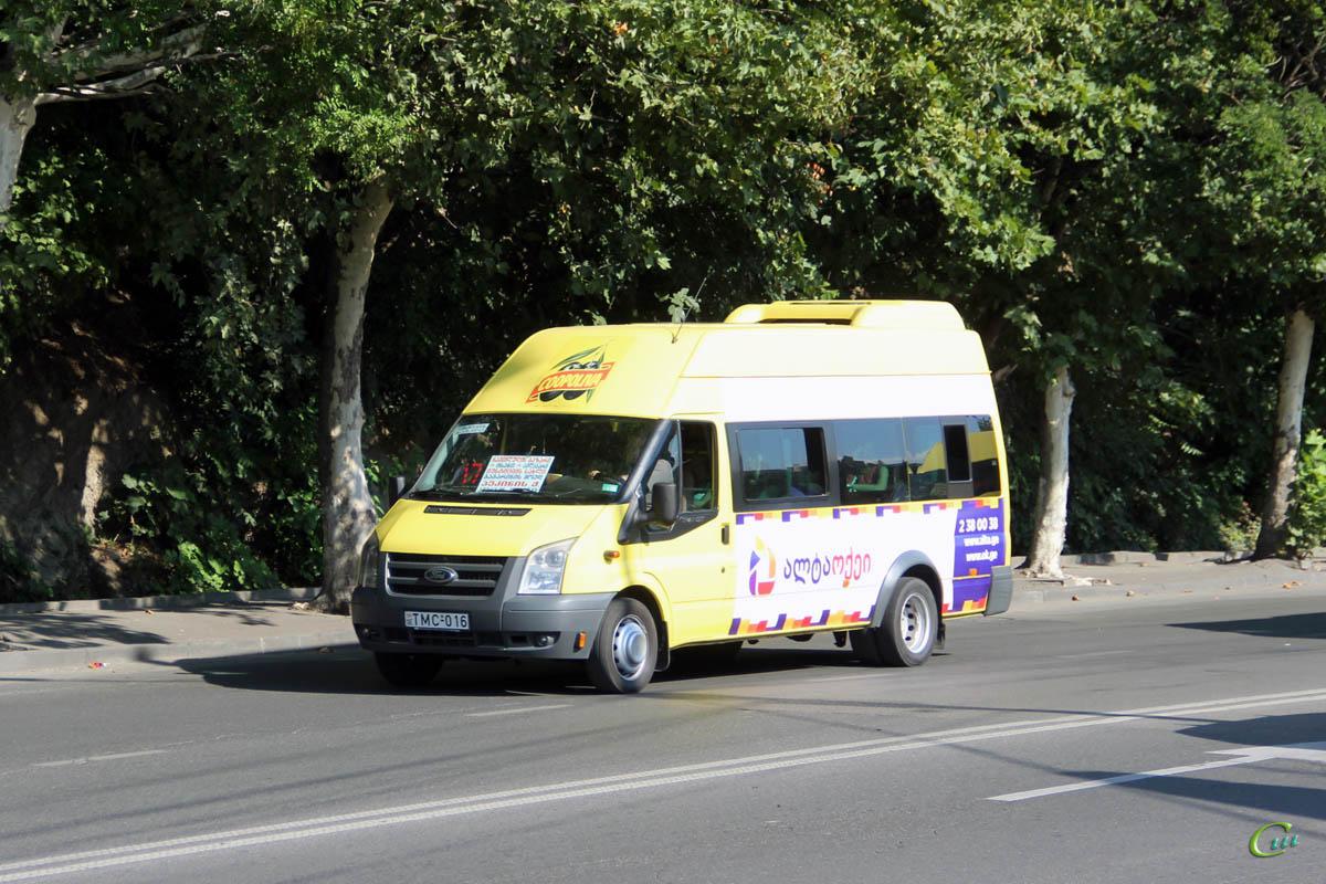 Тбилиси. Avestark (Ford Transit) TMC-016