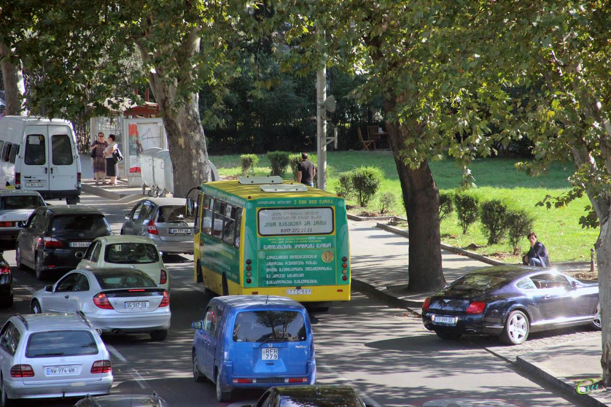 Тбилиси. Богдан А09201 TTC-597, Ford Transit CWN-629