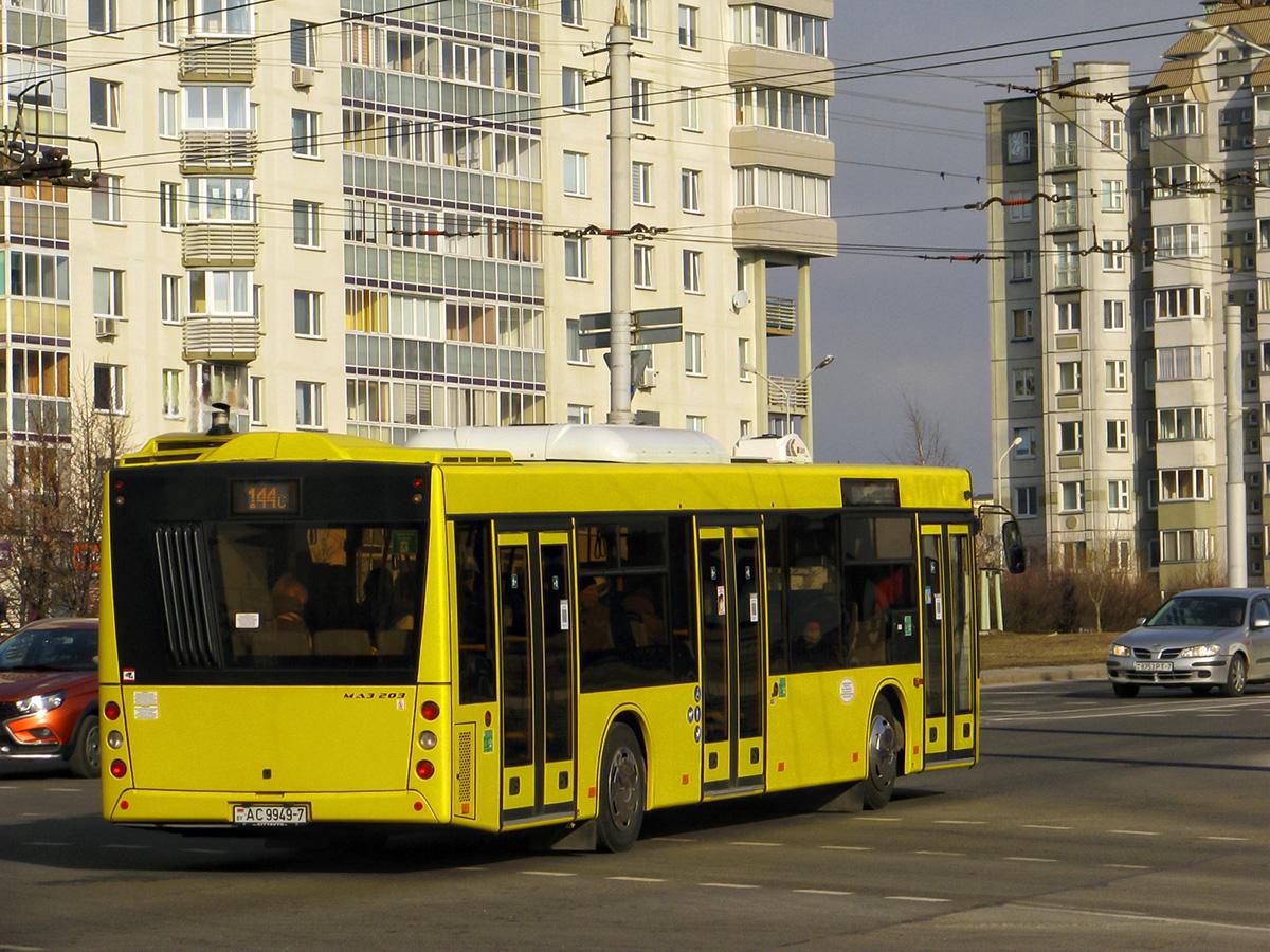 Минск. МАЗ-203.016 AC9949-7