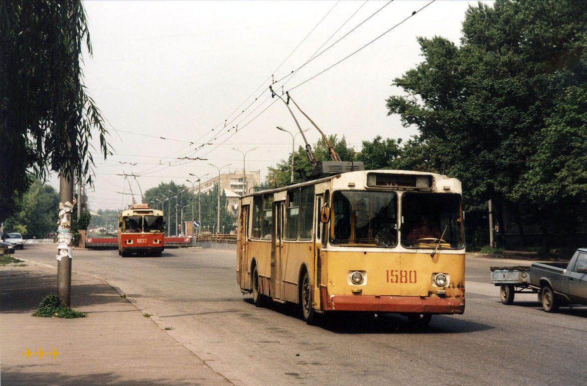 Донецк. ЗиУ-682В00 №1632, ЗиУ-682В №1580
