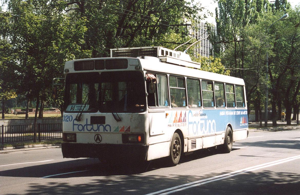 Донецк. ЛАЗ-52522 №1020