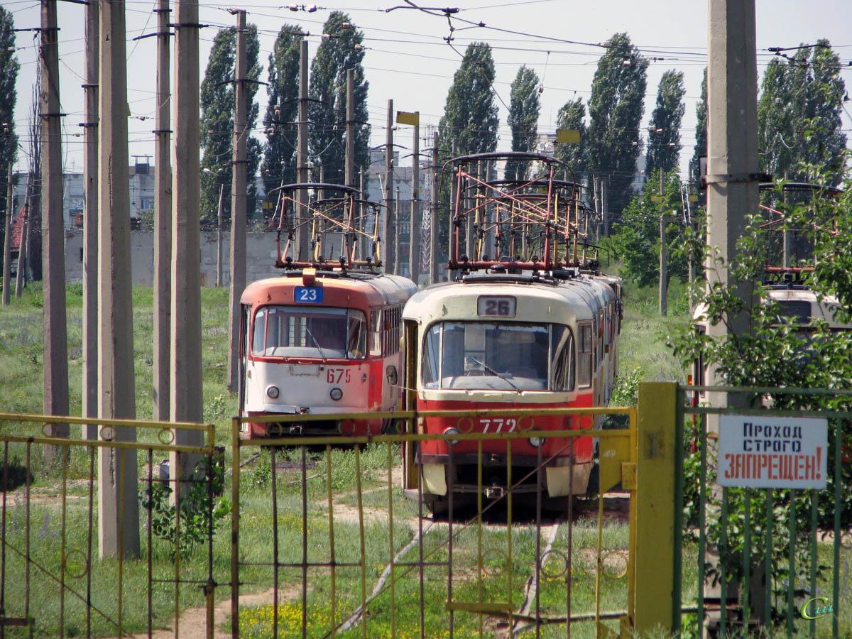Харьков. Tatra T3SU №772, Tatra T3SU №675