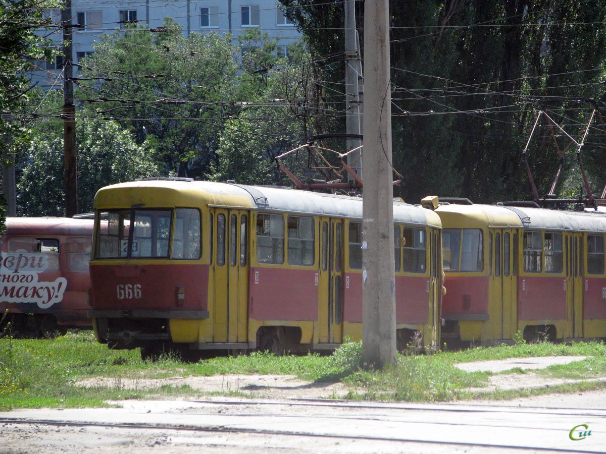 Харьков. Tatra T3SU №665, Tatra T3SU №666