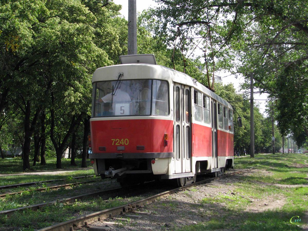 Харьков. Tatra T3SUCS №7240