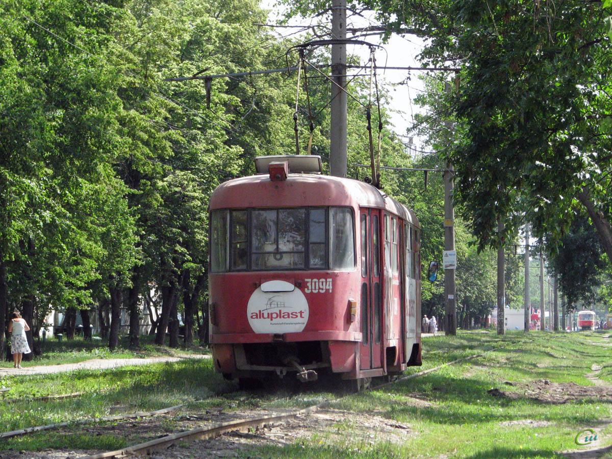 Харьков. Tatra T3SU №3094