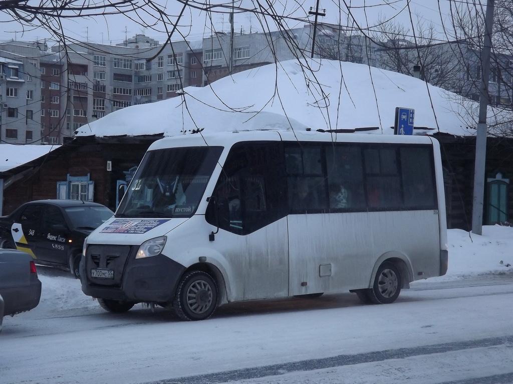Омск. ГАЗель Next у700мс