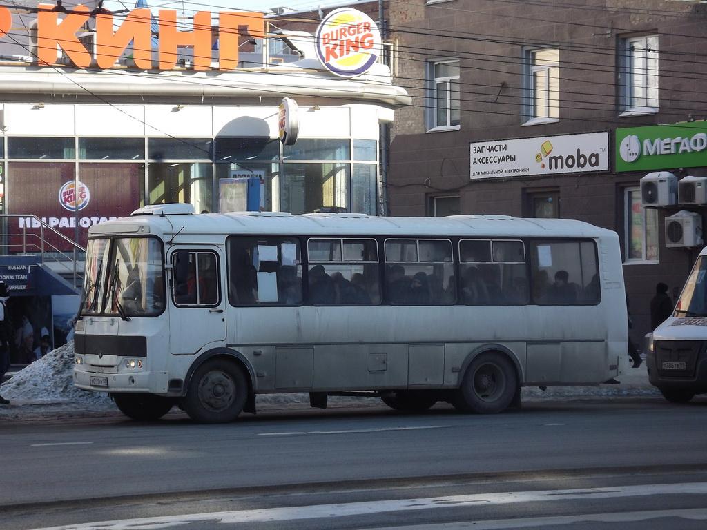 Омск. ПАЗ-4234-04 т011ух