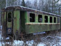 Шарья. Пассажирский вагон ПВ-40 № 5403