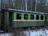 Шарья. Пассажирский вагон ПВ-40 № 5550