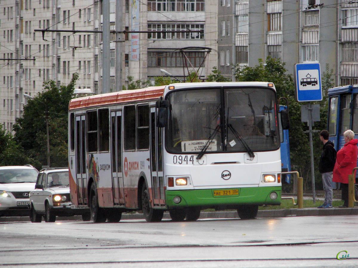 Череповец. ЛиАЗ-5256.26 ае321