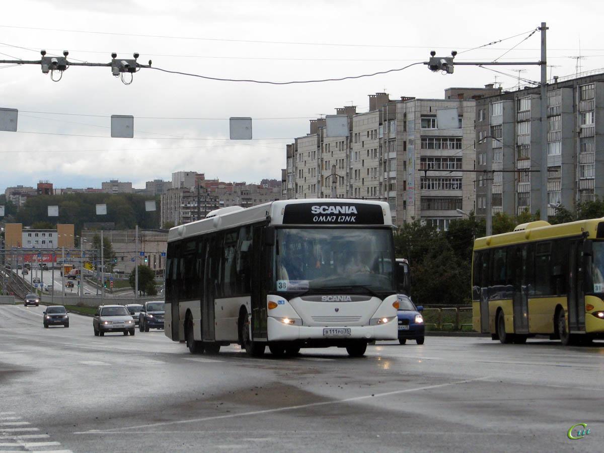 Череповец. Scania OmniLink CK95UB в111ро