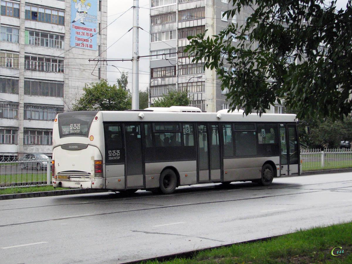 Череповец. Scania OmniLink CL94UB ае990