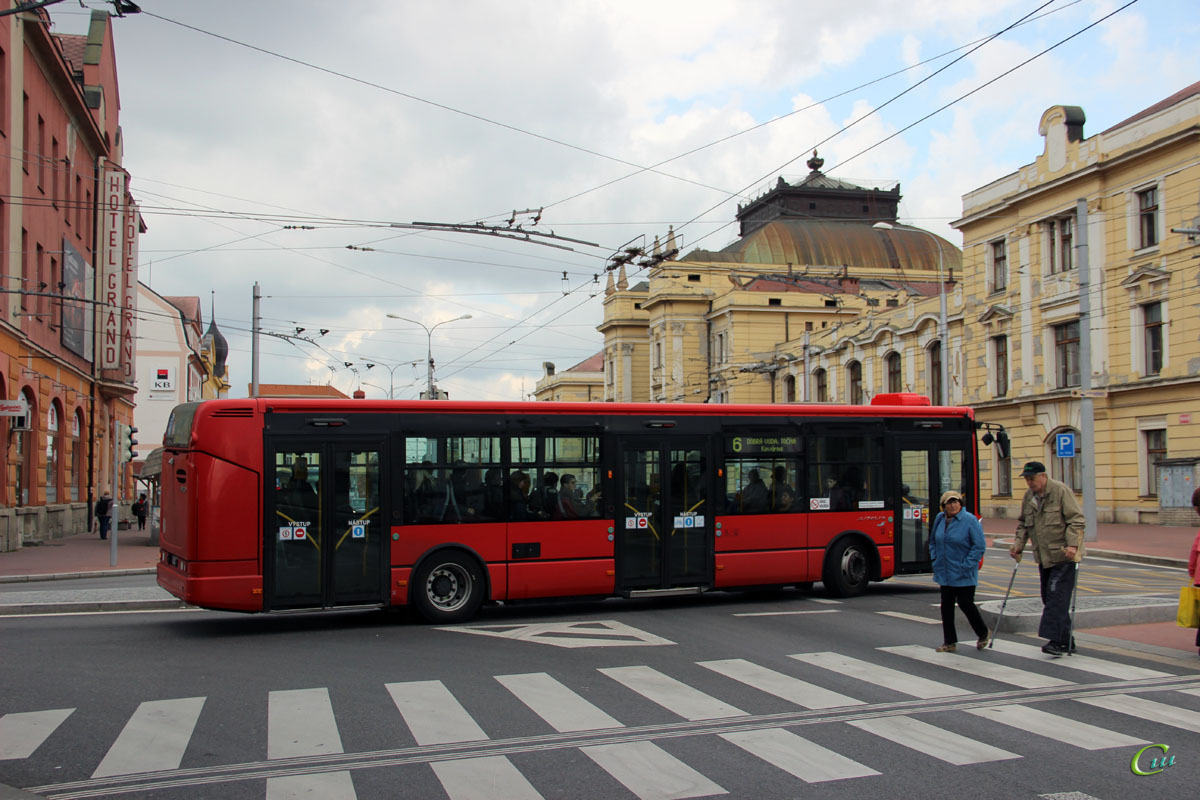 Ческе-Будеёвице. Irisbus Citelis 12M 6C4 1454