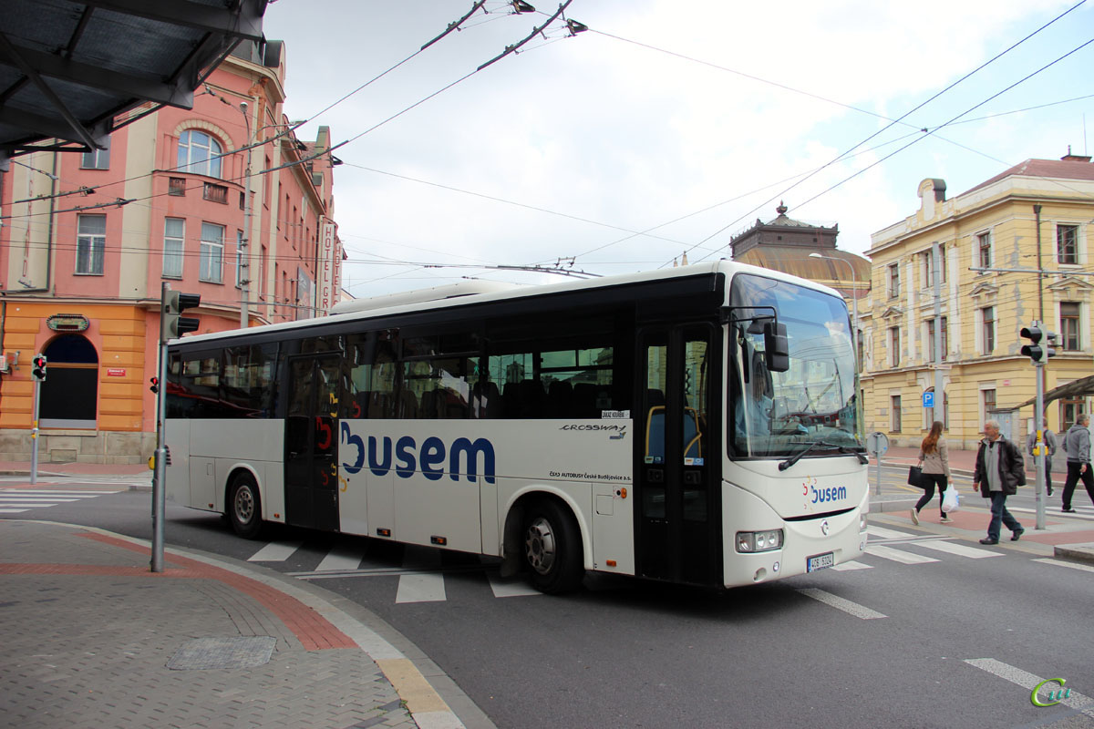 Ческе-Будеёвице. Irisbus Crossway 12M 4C6 5324
