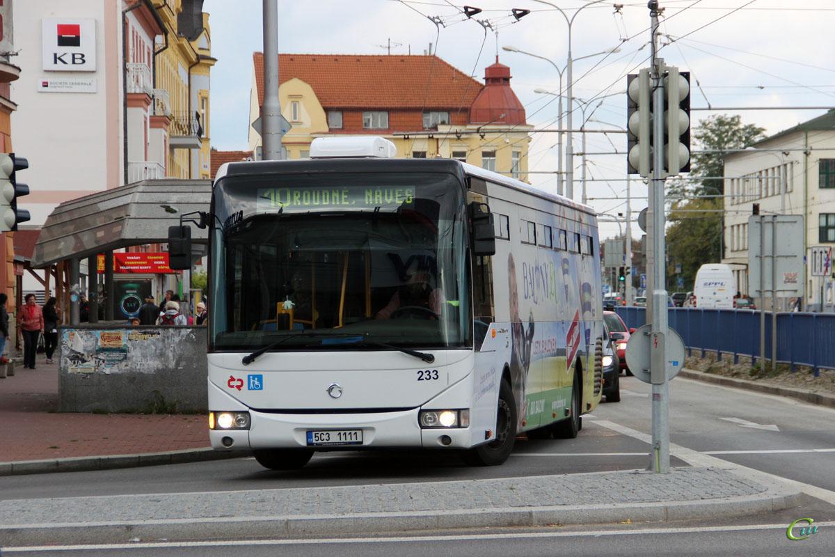 Ческе-Будеёвице. Irisbus Crossway LE 12.8M 5C3 1111