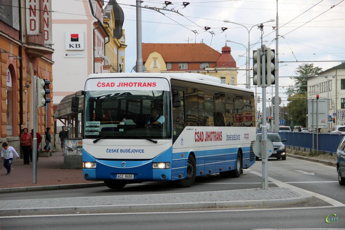 Ческе-Будеёвице. Irisbus Crossway 12.8M 4C2 8450