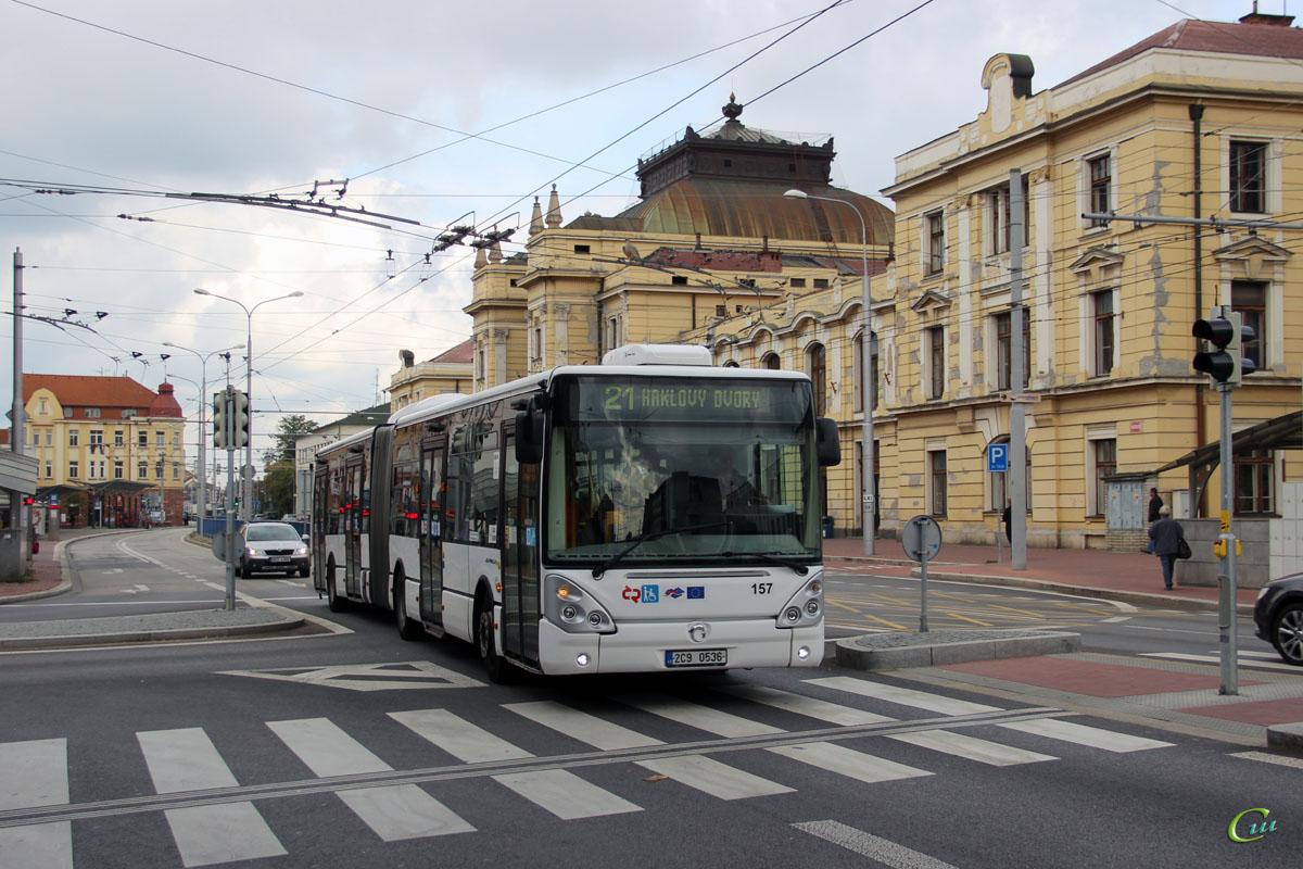 Ческе-Будеёвице. Irisbus Citelis 18M 2C9 0536