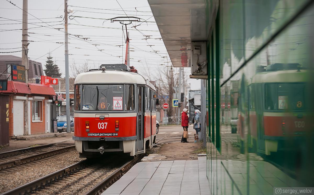 Краснодар. Tatra T3SU №037