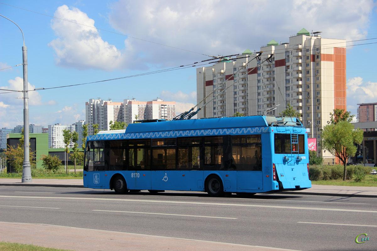 Москва. ТролЗа-5265.00 Мегаполис №8170