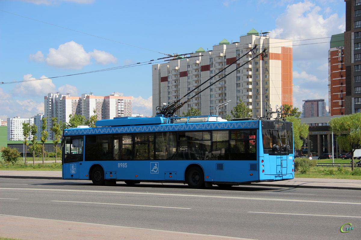 Москва. СВАРЗ-МАЗ-6275 №8985