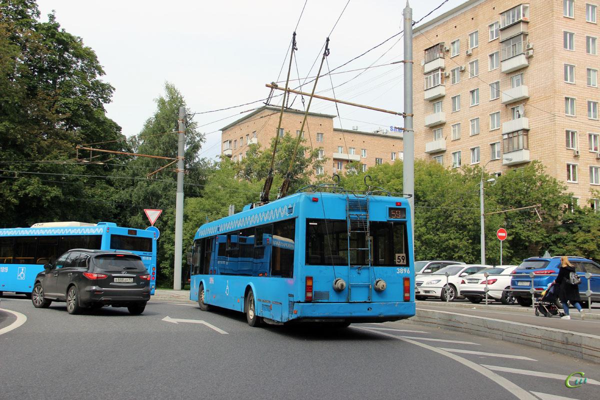 Москва. СВАРЗ-6235.01 (АКСМ-321) №3896