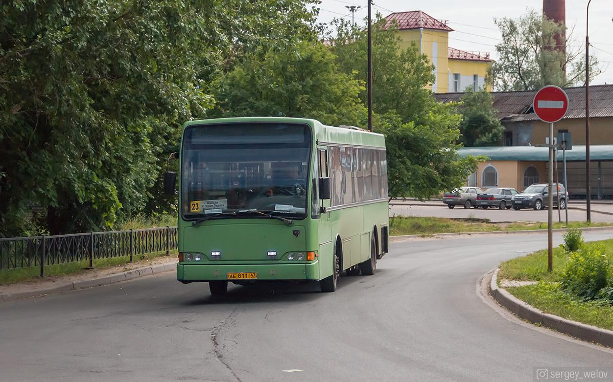 Волхов. Berkhof Europa 2000NL ае811