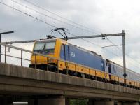 Амстердам. Bombardier Traxx F140 MS2 № 186 027