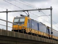 Амстердам. Bombardier Traxx F140 MS2 № 186 037